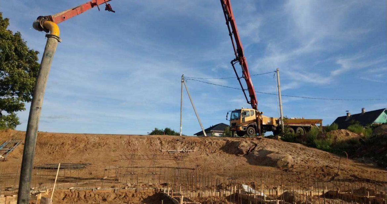 Автобетононасос. Купить бетон в Минске с доставкой